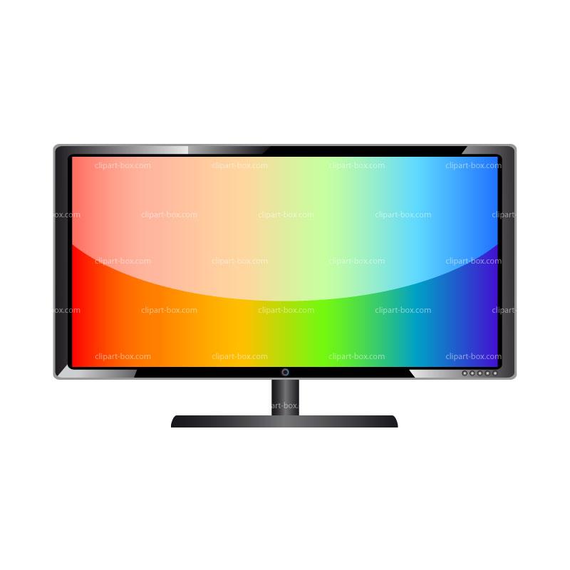 800x800 Tv Clipart Flat Screen Tv