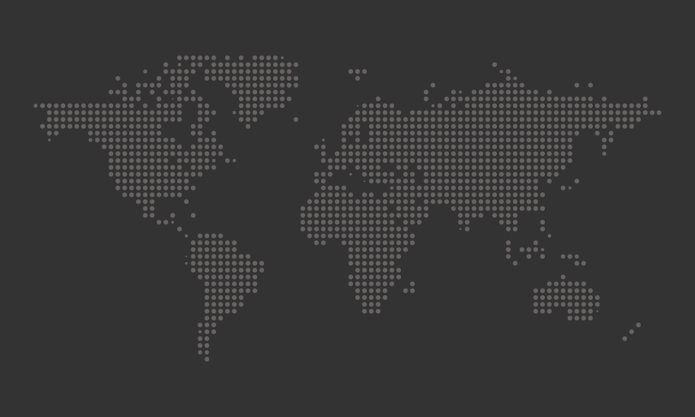 1000x600 Free Dotted World Map Vector