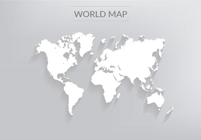 700x490 Free World Map Vector Collection Different Designs