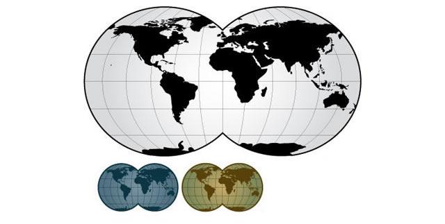 640x323 25 Free Vector World Maps