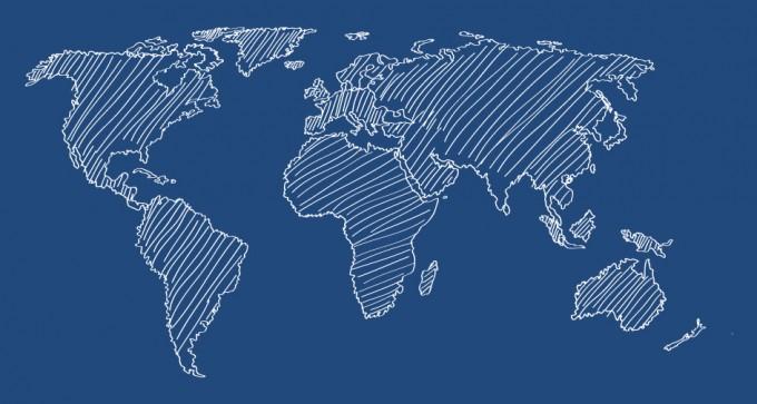 680x363 World Map Flat Vector The World Is Flat Lbum Viaje X