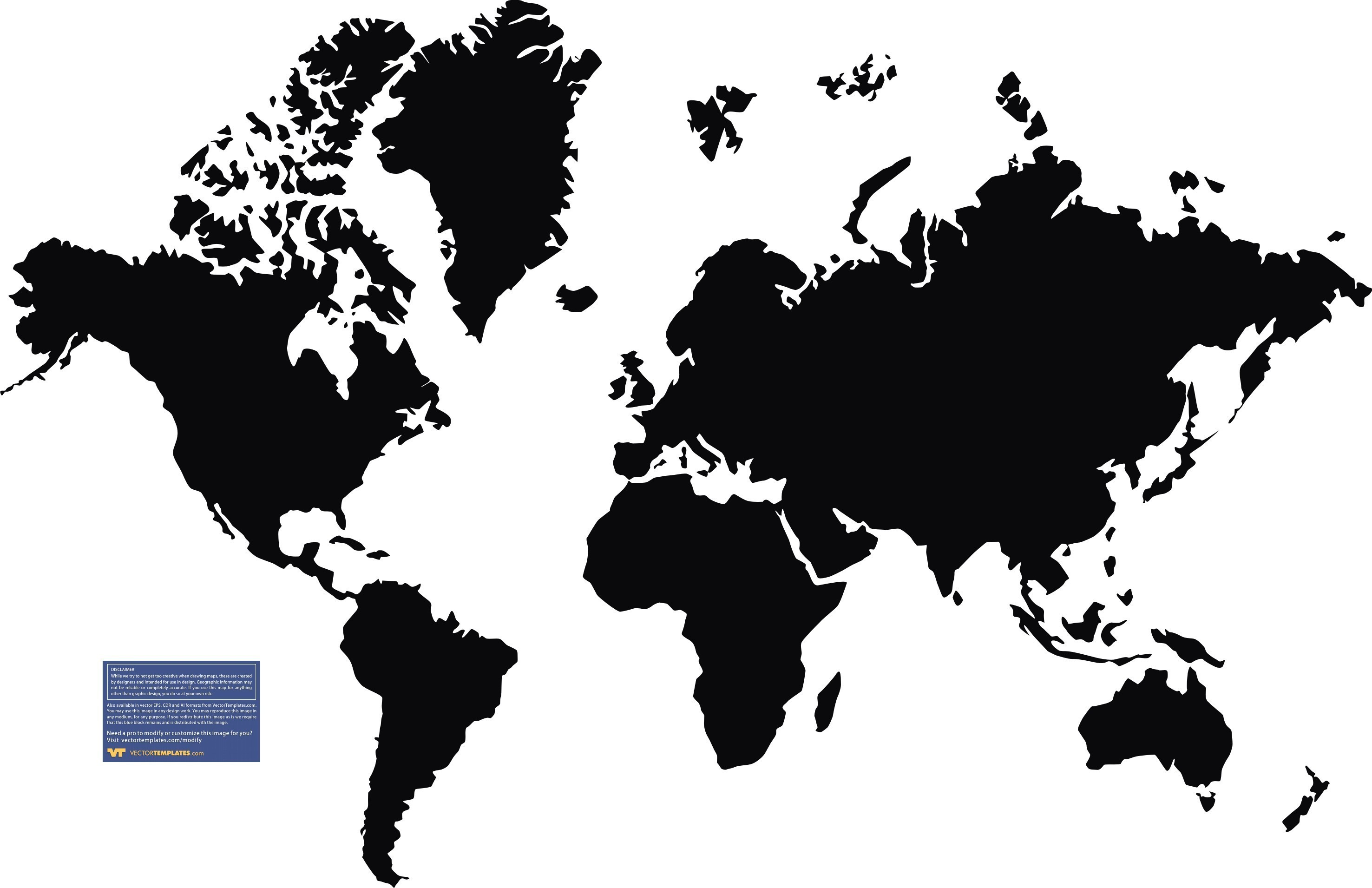 2953x1911 World Map Vector For Free Fresh Clipart Throughout Flat The And
