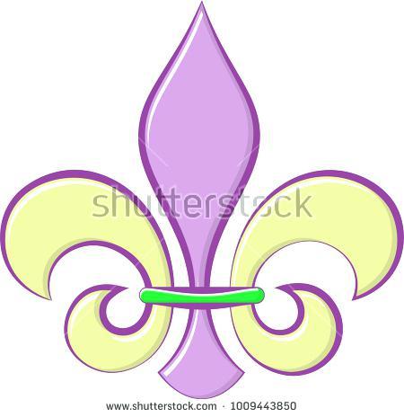 450x464 Fleur Di Lis Art S05979 Calligraphic Or Flower Fleur De Lis Vector