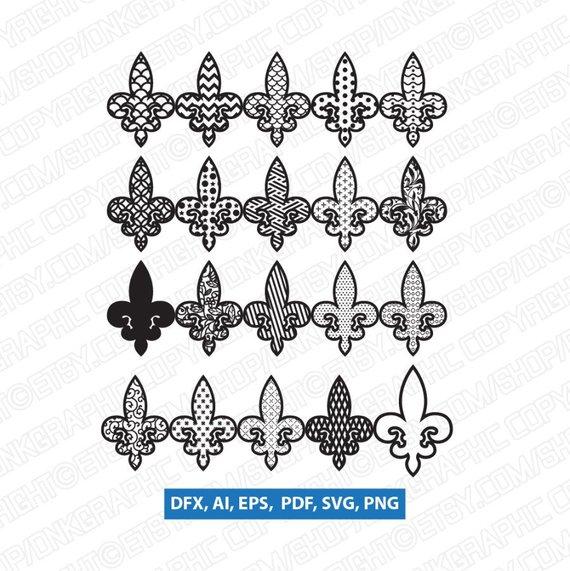 Fleur De Lis Vector Illustrator