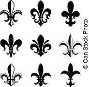 184x179 Fleur Vector Clip Art Eps Images. 3,297 Fleur Clipart Vector