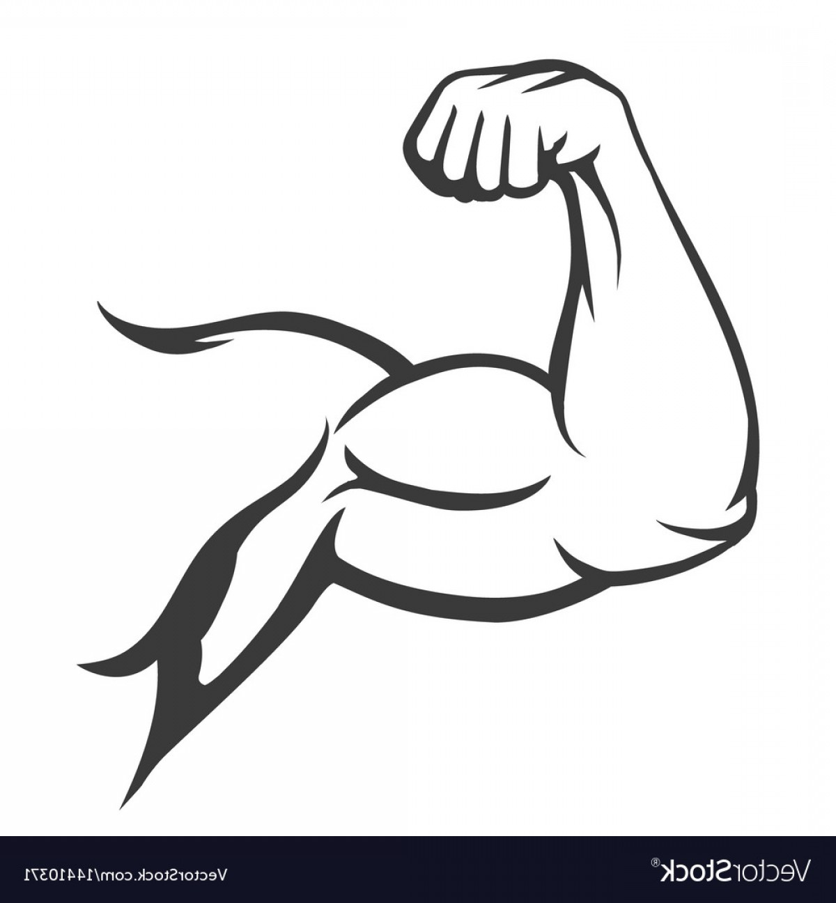 1200x1296 Bodybuilder Muscle Flex Arm Vector Geekchicpro