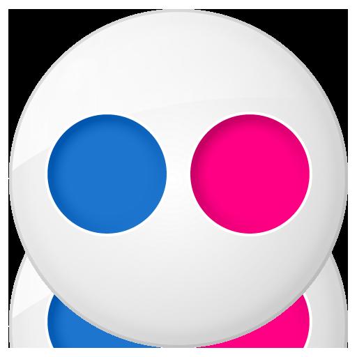 Flickr Icon Vector