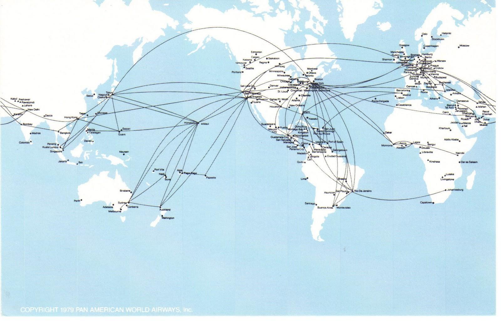 Flight Vector Map