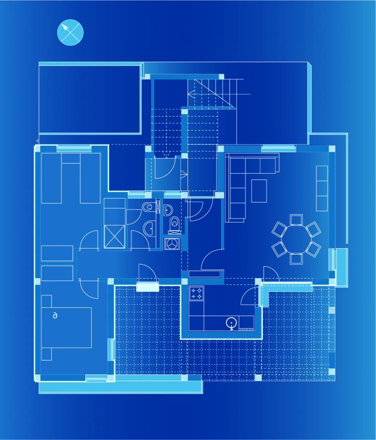 Floor Plan Vector