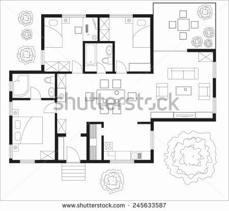 450x416 Floor Plan Maker Free No Download Awesome Free Floor Plan Vector