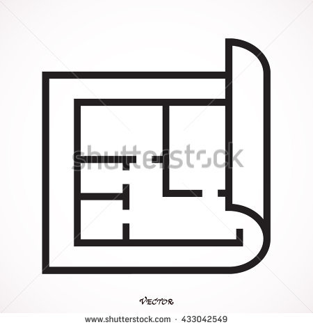 450x470 Stock Vector Floor Plan Icon Vector Cool Floor Plan Icon