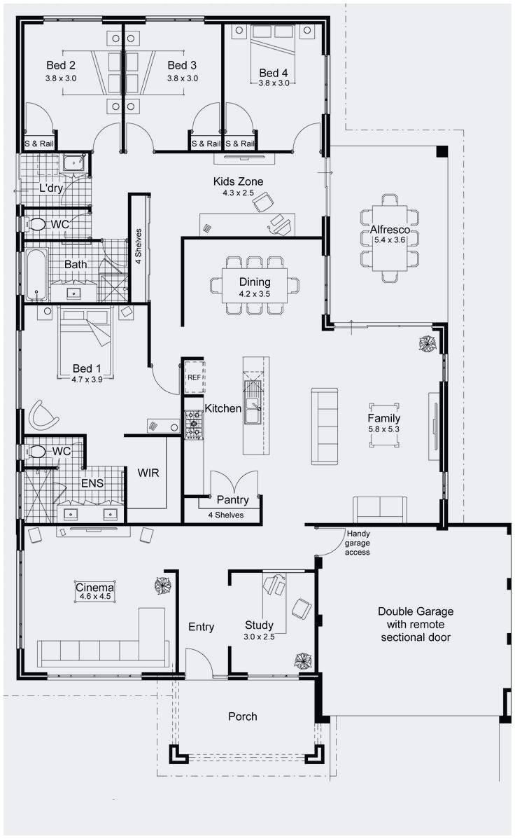 736x1198 Restaurant Floor Plan Vector