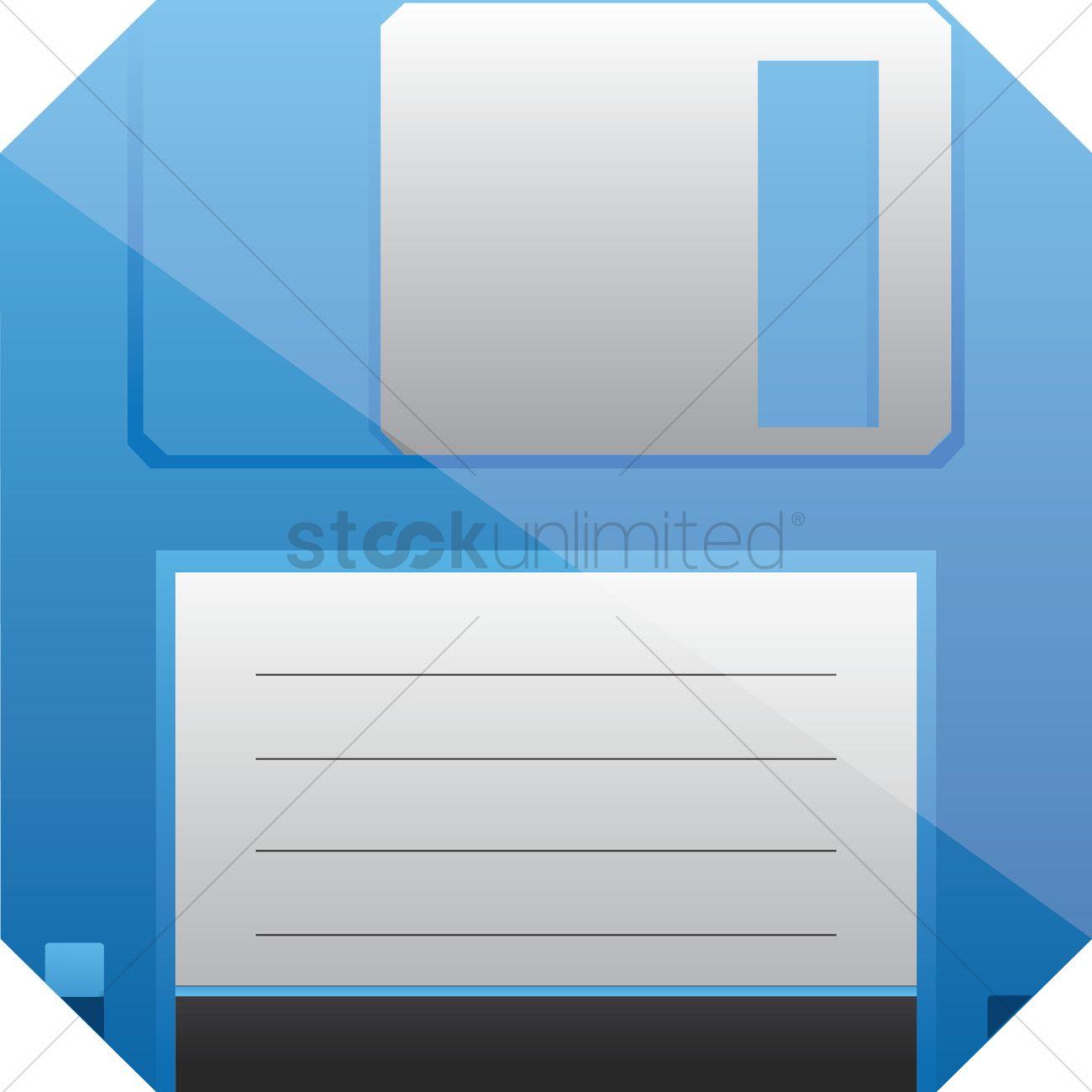 1300x1300 Floppy Disk Vector Image