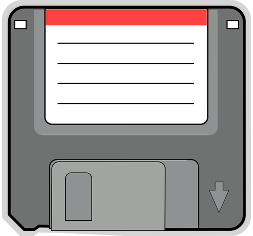 500x466 Pc Floppy Disk Vector Image Public Domain Vectors