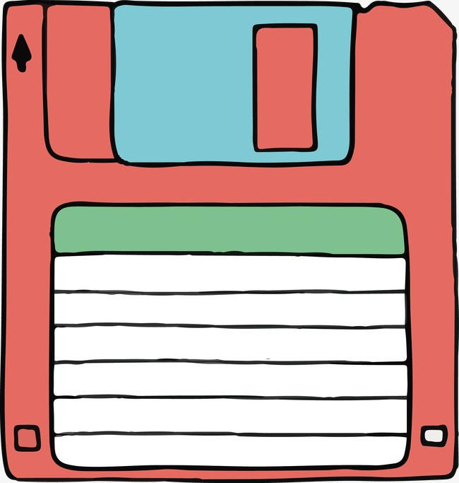 650x683 Vector Cartoon Floppy Disk, Pink, Hand Painted, Memory Png And