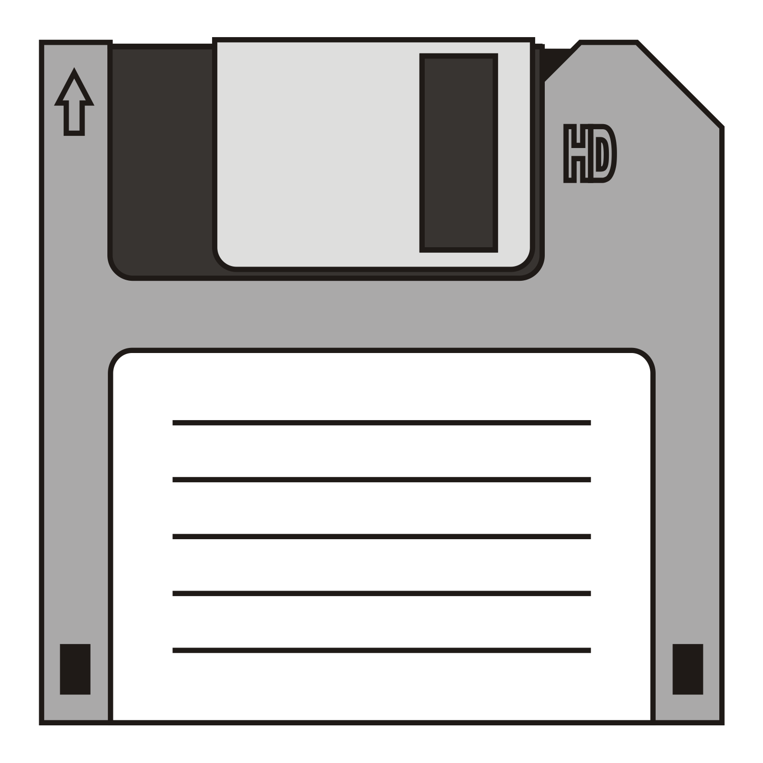 1500x1500 Vector For Free Use Floppy Disk