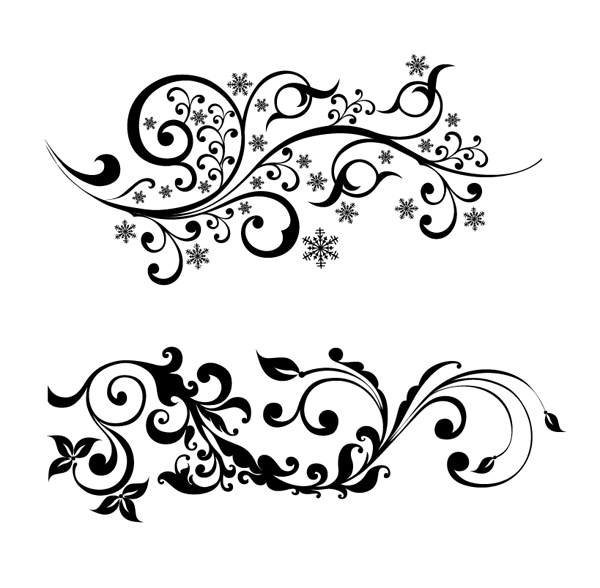 600x588 Floral Art Vector Png 2 Png Image