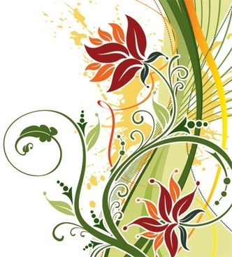 332x368 Floral Free Vector Download (7,643 Free Vector) For Commercial Use