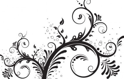 425x269 Floral Ornaments For Wedding Vector Free Vector Download (101,977