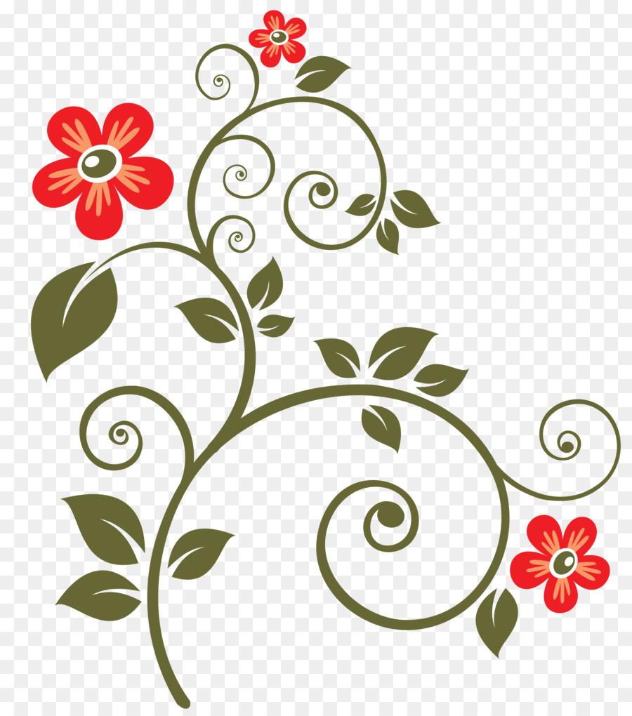 900x1020 Flower Clip Art