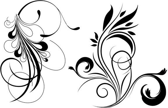 576x372 Free Floral Vector Free Vector In Acrobat Reader Pdf ( .pdf