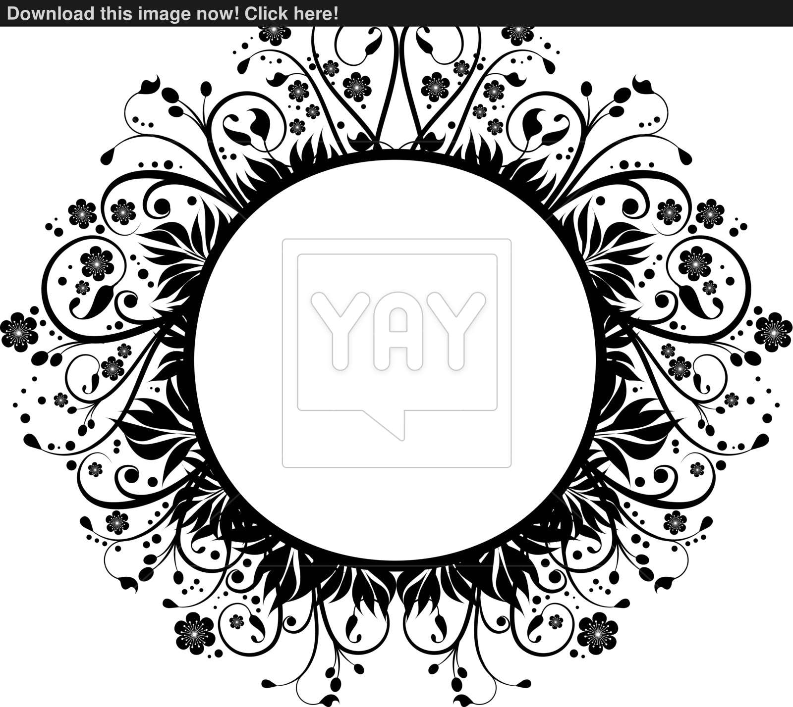 1600x1428 Floral Background Vector