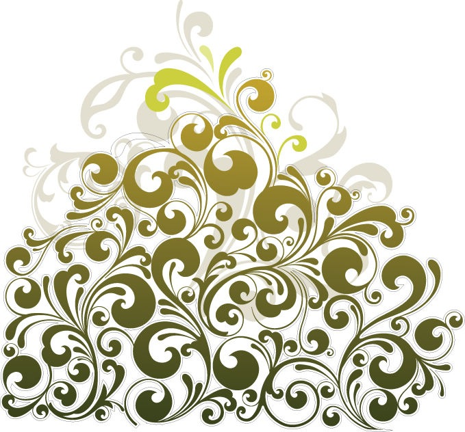 679x632 Floral Design Element Vector Art Free Vector Graphics All Free