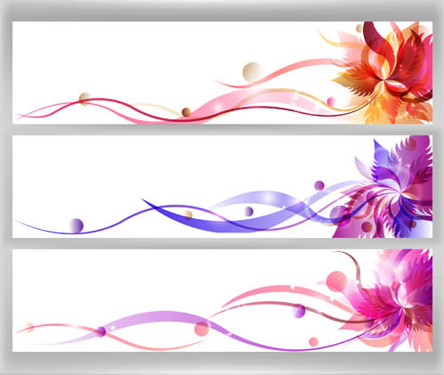 499x421 Floral Banners Free Vector Ai Format Free Vector Download