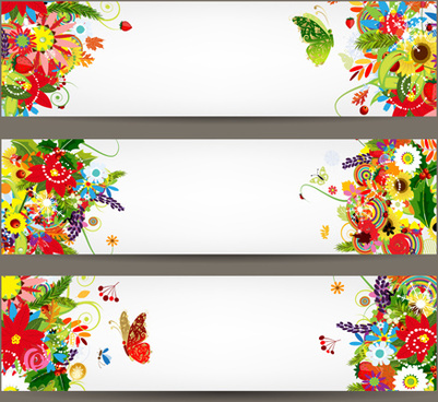 401x368 Floral Banners Free Vector Download (16,545 Free Vector) For