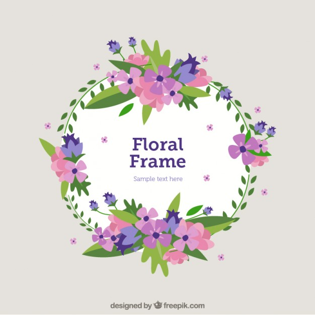 626x626 Hand Drawn Decorative Floral Banner Vector Free Download
