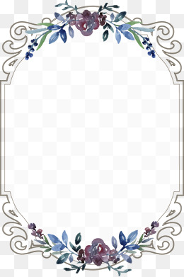 260x391 Floral Border Png, Vectors, Psd, And Clipart For Free Download