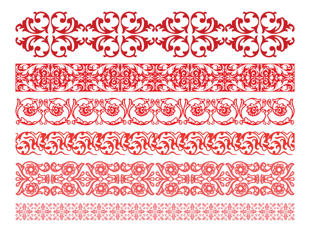 1024x765 Floral Borders Graphics Vector Art Amp Graphics
