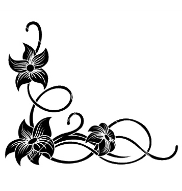 357x376 Free Floral Corner Vector Free Vector Download 247045 Cannypic