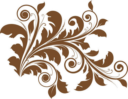 487x376 Floral Design Element Vector Free Vector Graphics All Free Web
