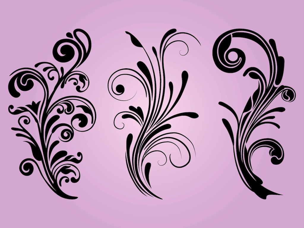 1024x767 Free Floral Designs Vector Art Amp Graphics