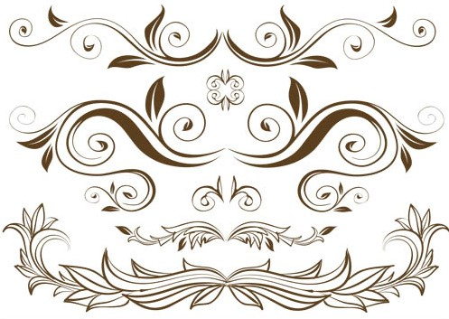 497x353 Floral Design Branches Vector Ai Format Free Vector Download