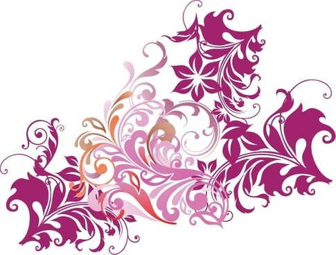 485x368 Floral Design Element Vector Free Vector Download (33,577 Free
