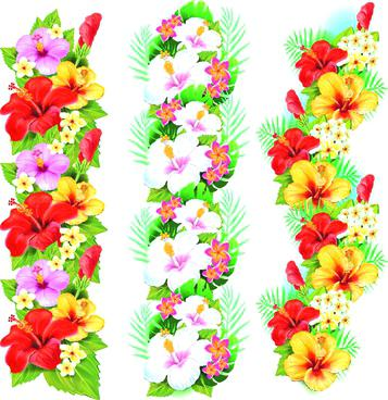 357x368 Flower Design Border Flowers Borders Vector Set Floral Border