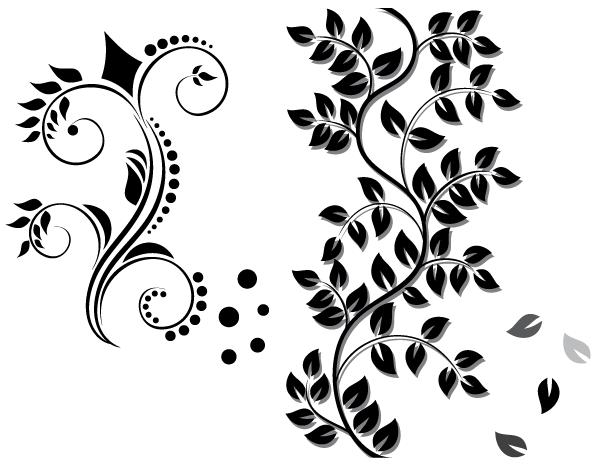 600x465 Free Floral Ornament Vector Free Download Psd Files, Vectors