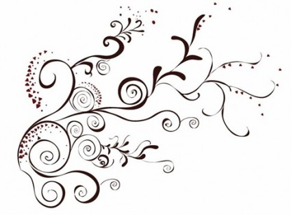 425x314 Vector Floral Design Element Vector Free Vector Download In .ai