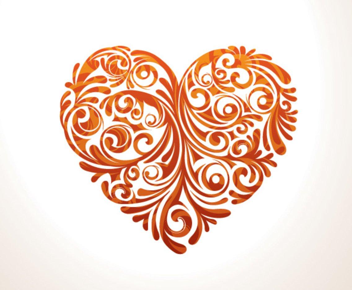 1136x936 Floral Heart Vector Art Amp Graphics