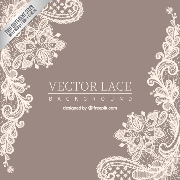 626x626 Ornamental Lace Background Vector Premium Download