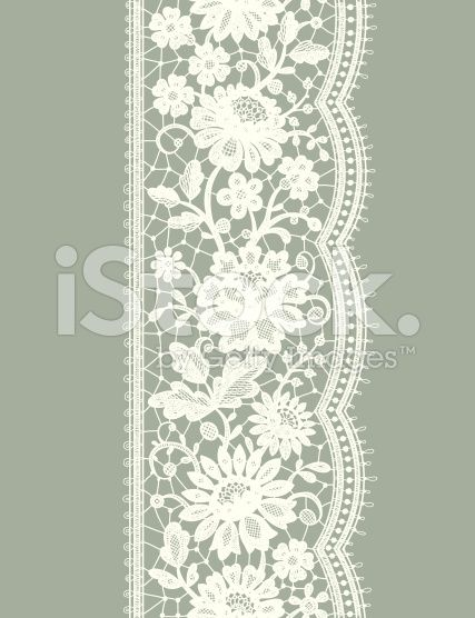 427x556 White Lace Vertical Seamless Pattern. Floral Pattern. Lace