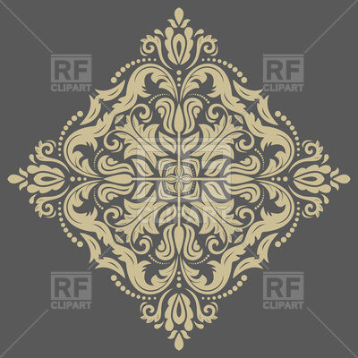 400x400 Damask Floral Lace Vector Image Vector Artwork Of Backgrounds