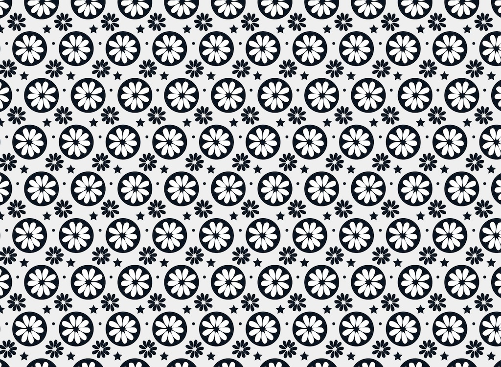 1024x750 Floral Pattern Vector