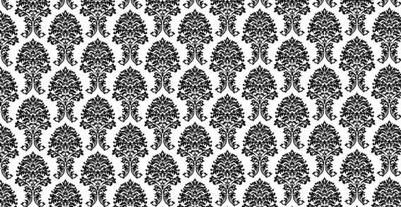568x294 Floral Vector Pattern 123freevectors