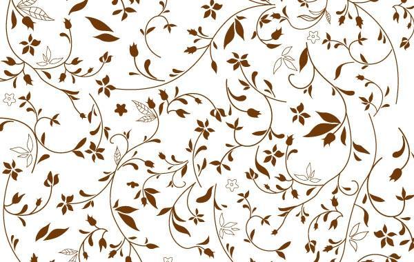 600x380 Free Floral Pattern