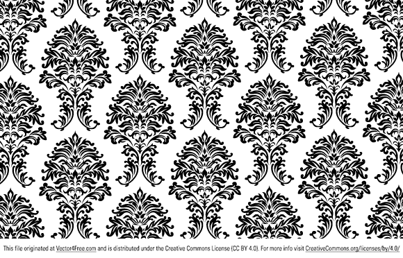 580x372 Free Floral Vector Pattern In Ai