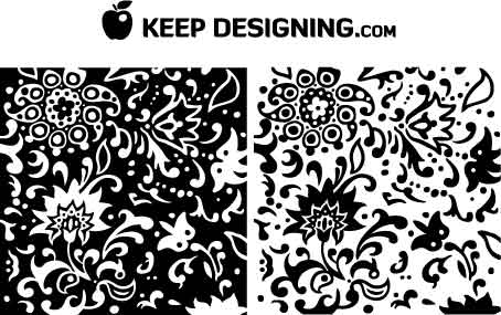 454x285 Keep Designingswirly Summer Flower Pattern Vectors