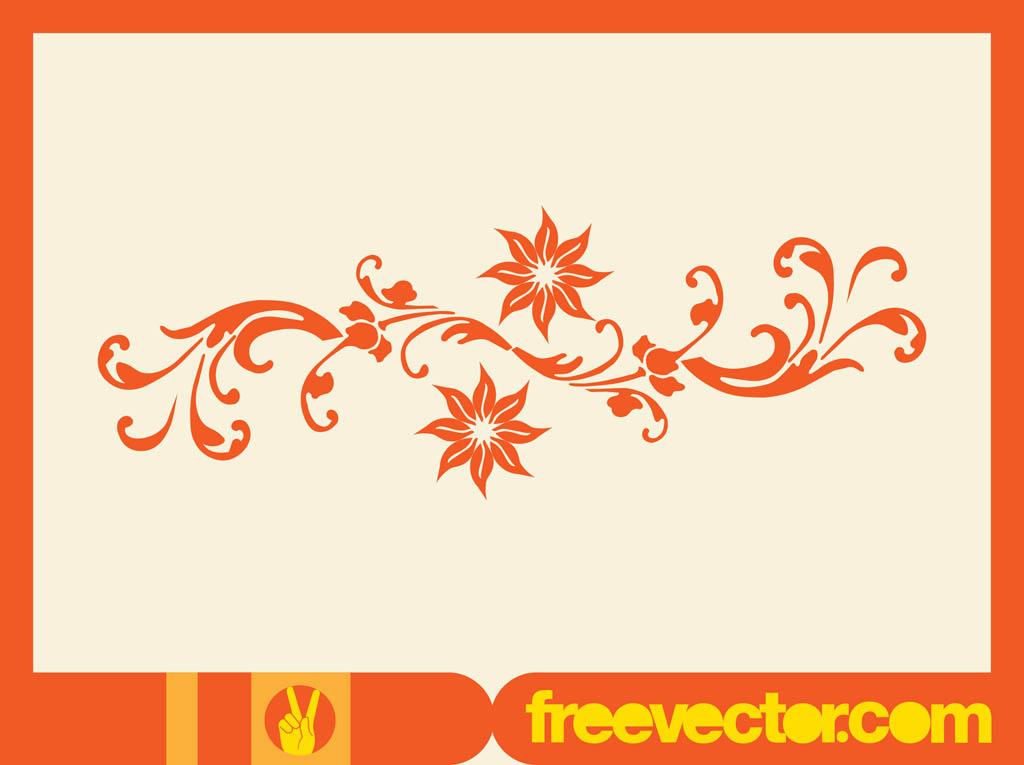1024x765 Floral Scroll Vector Element Vector Art Amp Graphics